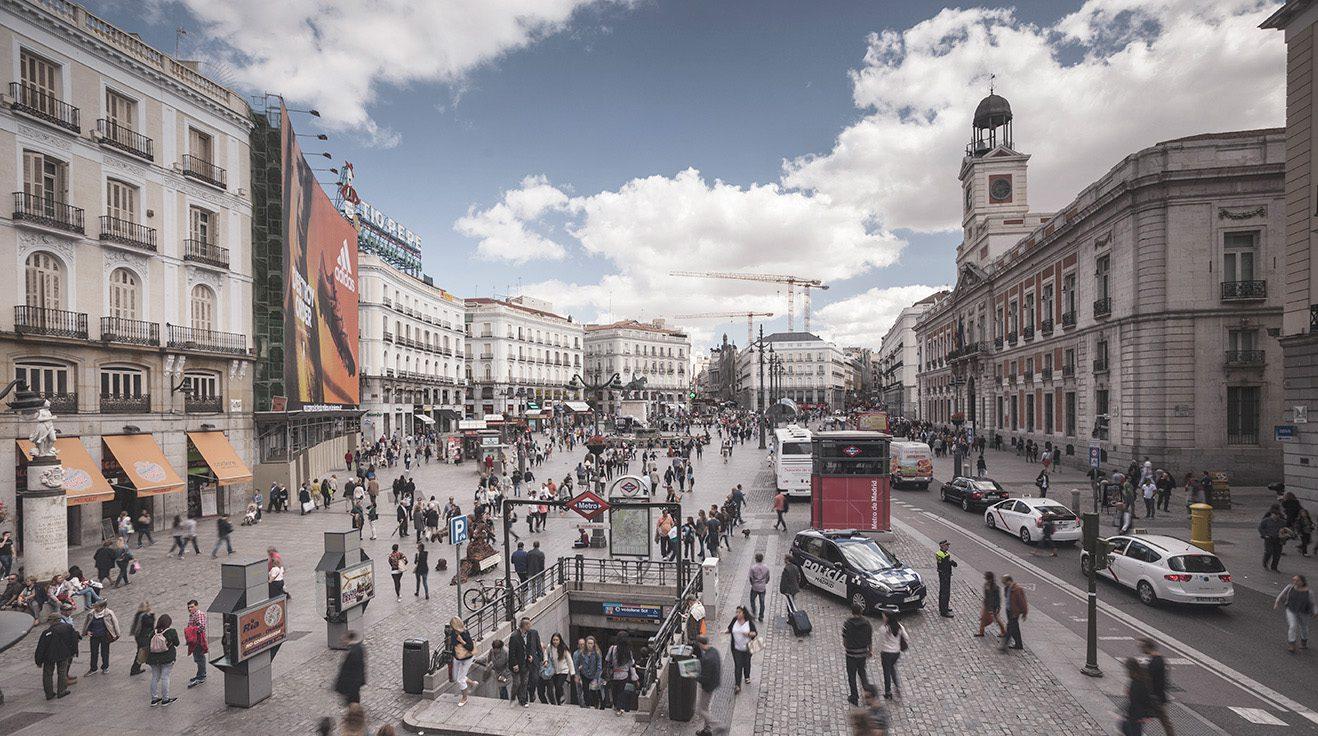 Madrid office street